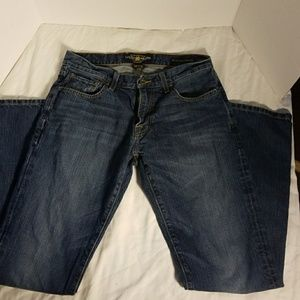 Lucky Brand 221 Original Straight Jeans 30×32